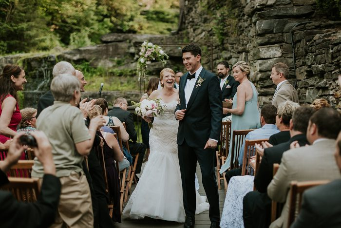 ledges hotel wedding photo