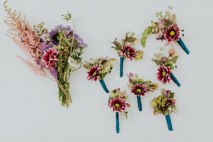 wildflower wedding inspiration