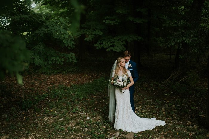 Poconos wedding photo