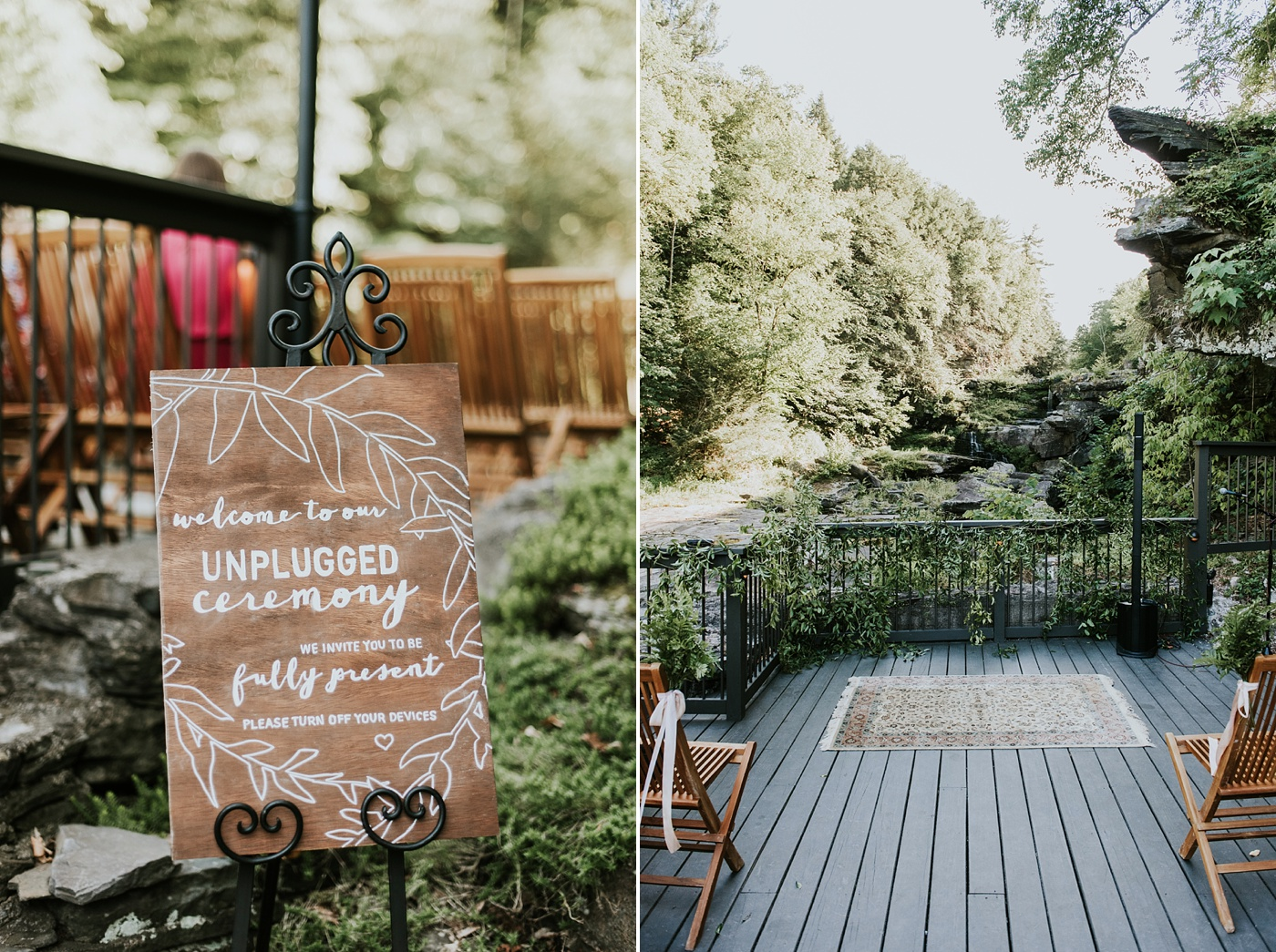 "alt=""Heartfelt Ledges Hotel Wedding"""