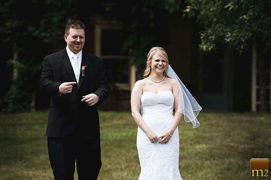 Philadelphia Wedding Photography bride and groom first look