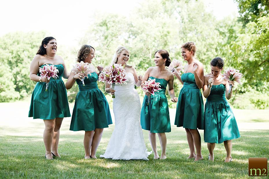 Philadelphia wedding photography bridesmaids