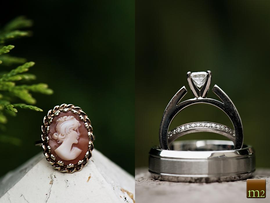Antique ring shot