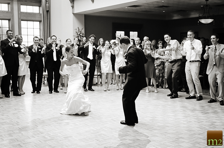 Bride and Groom entrance dance
