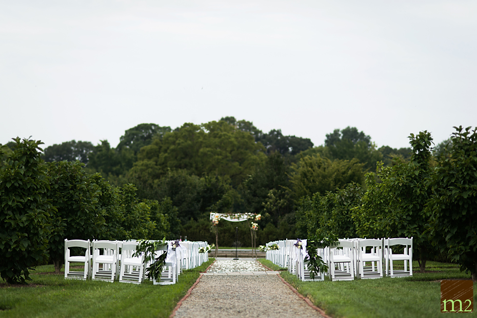 pretty outdoor ceremony