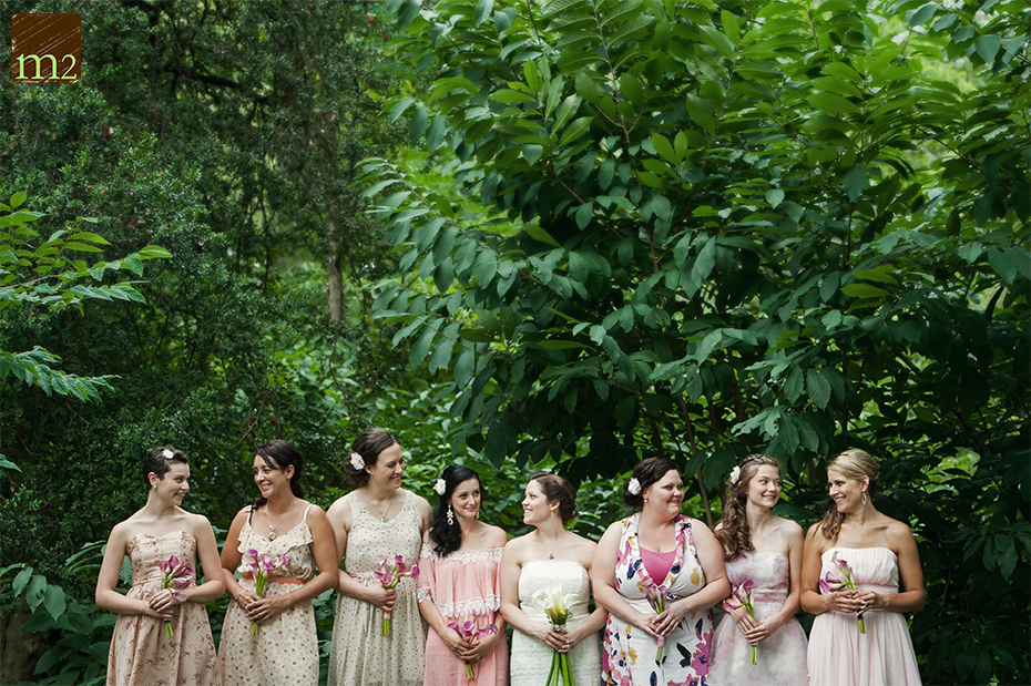 cute bridesmaids dress for earthy wedding