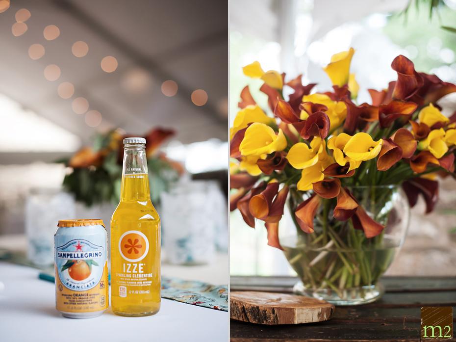 Izzie drinks at weddings