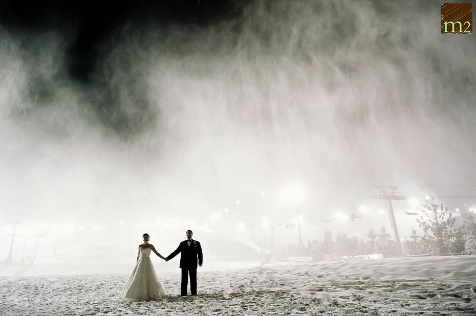 amazing-snow-wedding-day-portrait