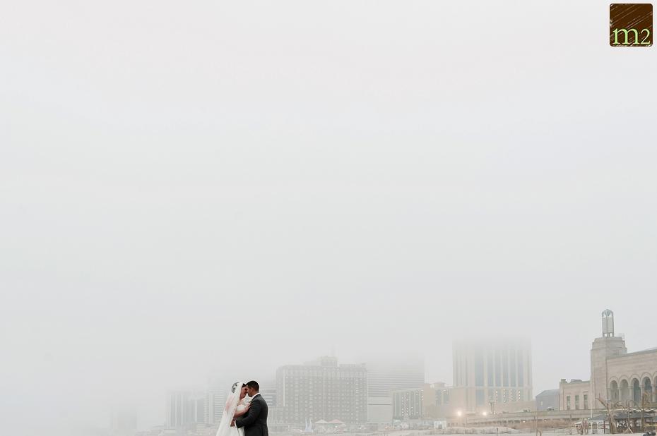 Foggy-bride-and-groom-Atlantic-City-wedding