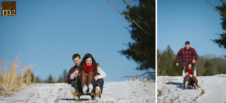 sleigh-riding-engagement-shoot