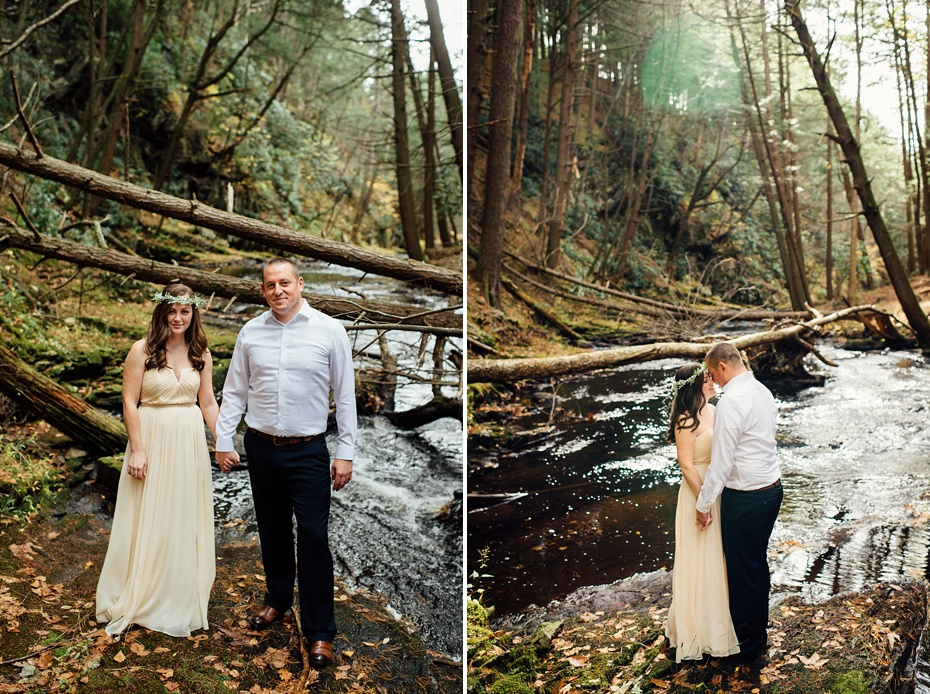 Poconos-engagement-photo