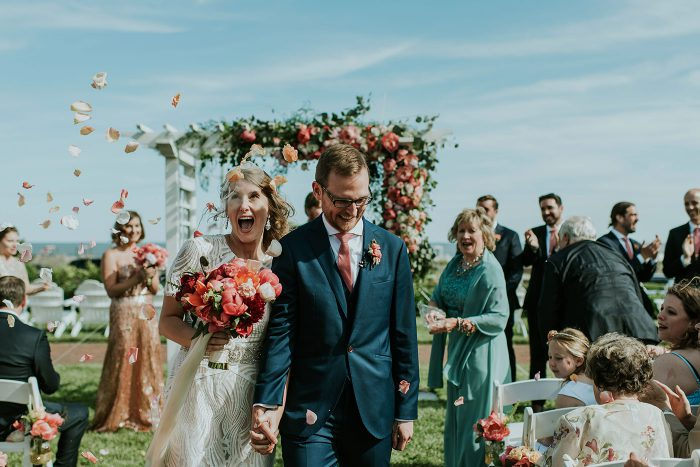 Ray & Erin's Beachy Congress Hall Wedding